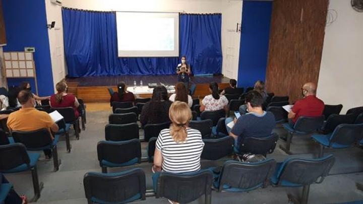 Reunión en la secretaria de educación de Ocaña con directivos de las instrucciones educativas privadas