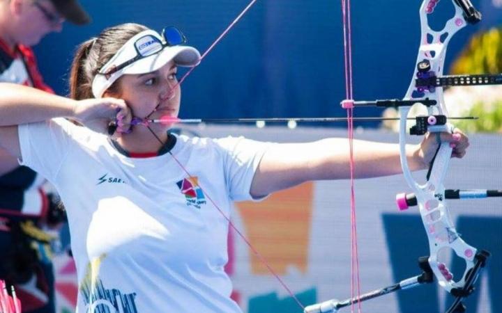 Sara López, una deportista colombiana que encabeza la arquería mundial