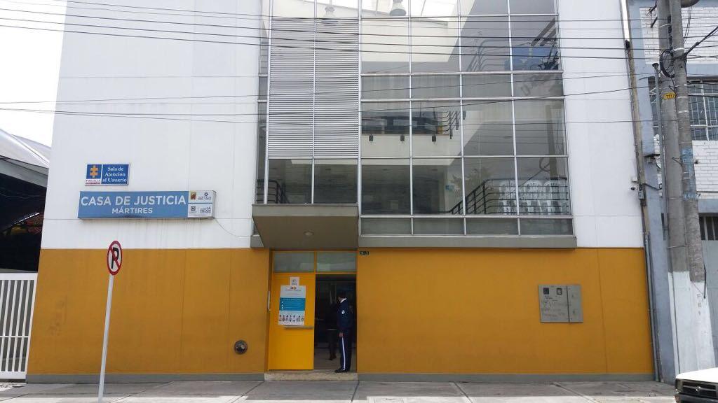 Casa de Justicia localidad de Mártires