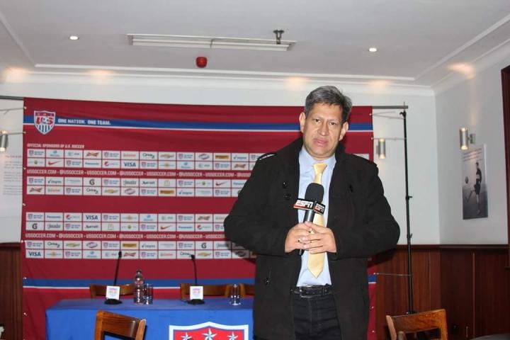 En la foto: Luis Fernando Domínguez