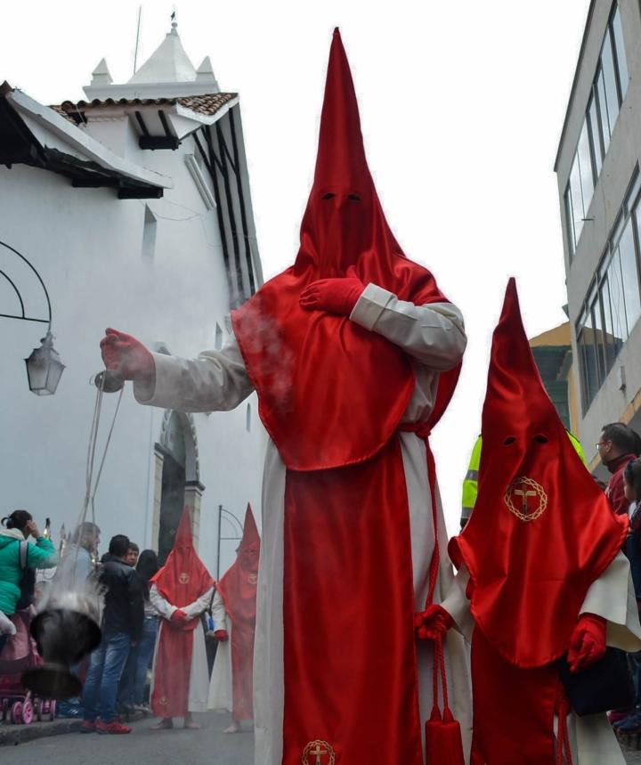 Así se conmemora la Semana Santa en Tunja