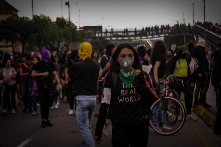 La marcha llega a Ricaurte