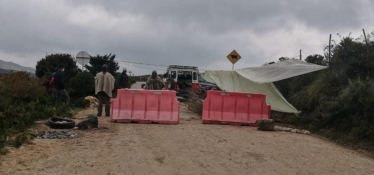 Campesinos del Sumapaz aíslan su territorio del coronavirus