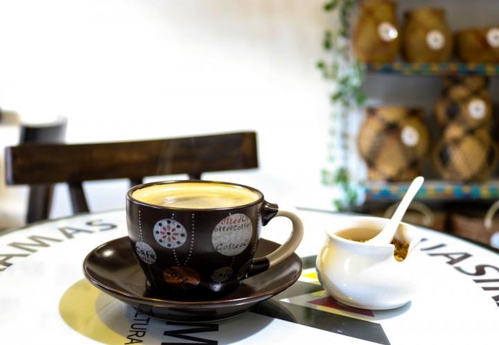 Café con sabor a paz