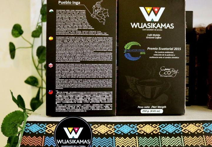 Wuasikamas, café gourmet de altura. Foto por: Jasmin Karina Gómez Fattah