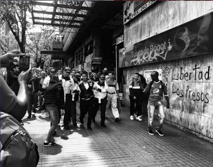 Intento de robo en la calle 19 con carrera Séptima de Bogotá