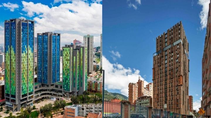 Las residencias CityU y Livinnx18, ubicadas en el centro de Bogotá