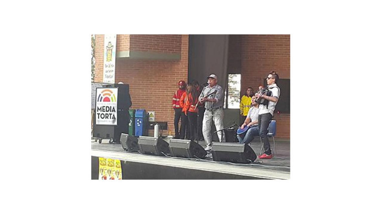 El Teatro la Media Torta abre sus puertas al primer festival vallenato de Bogotá