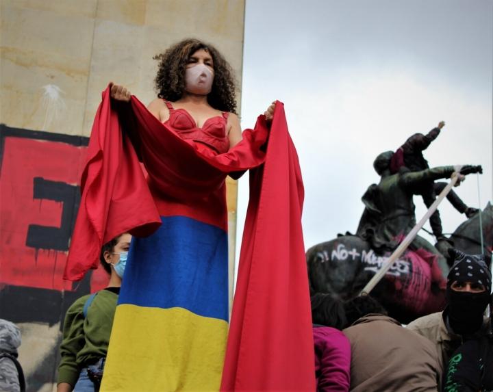Imágenes del Paro Nacional en Colombia