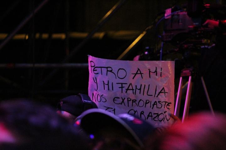 El cierre de campaña de Gustavo Petro en la Plaza de Bolívar