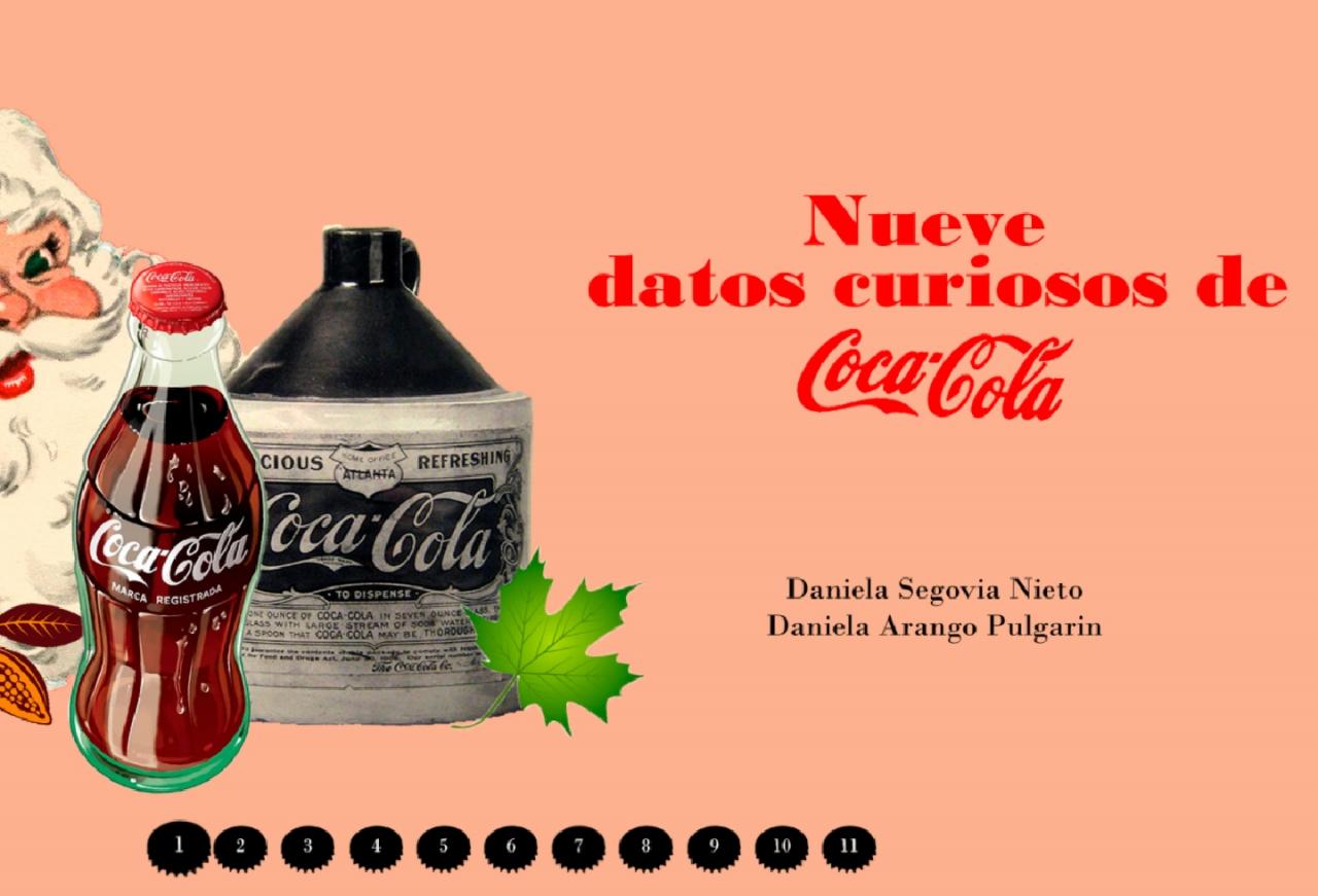 9 datos curiosos de la Coca-Cola