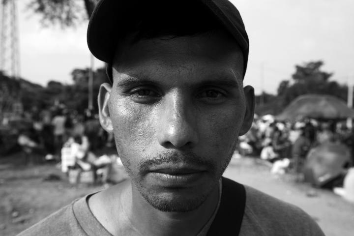 Retrato a un inmigrante venezolano