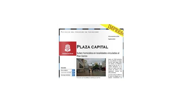Plaza Capital impreso, segunda edición