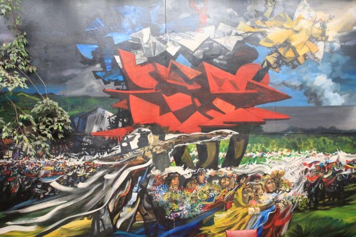 Mural León Tolstoi
