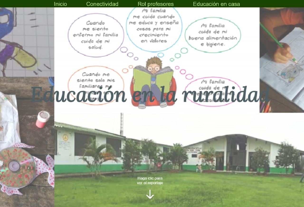 Casanare, la educación rural en jaque por pandemia