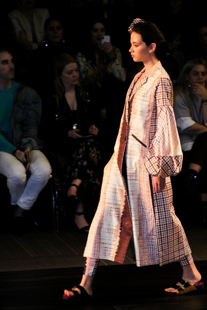 """Durante el conversatorio """"La industria creativa de la moda"""", Silvia Tcherassi explicó que la cada prenda de la colección evocaba la poesía, el romanticismo y la nostalgía."""