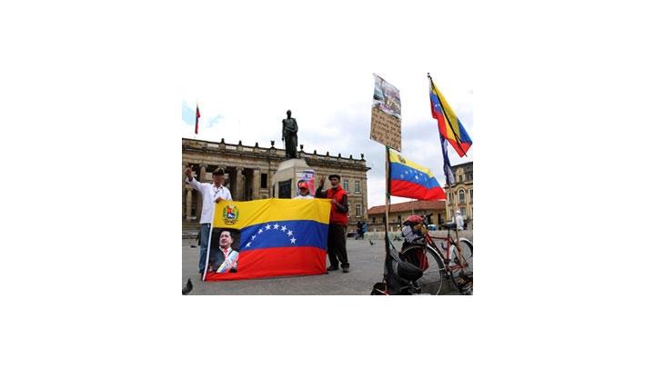 Homenaje a Hugo Chávez en la Plaza de Bolívar