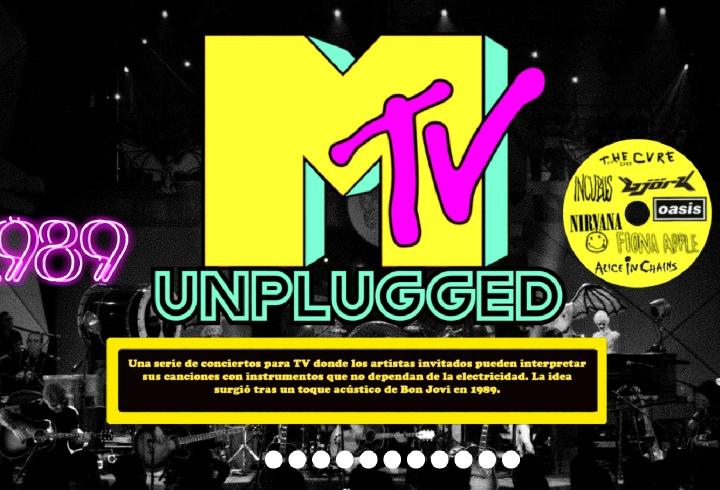 MTV Unplugged, dos décadas de música en vivo