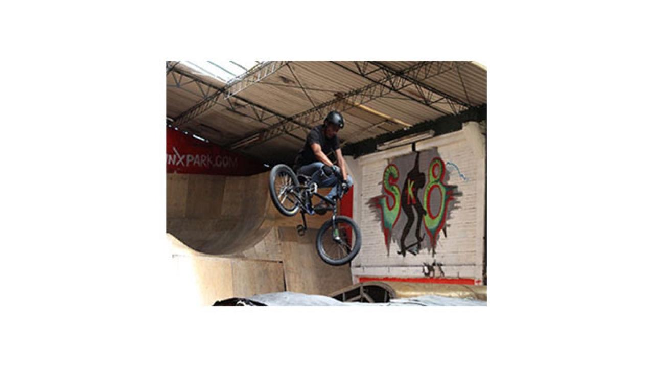 Oinxpark, primer parque de BMX Freestyle en Bogotá