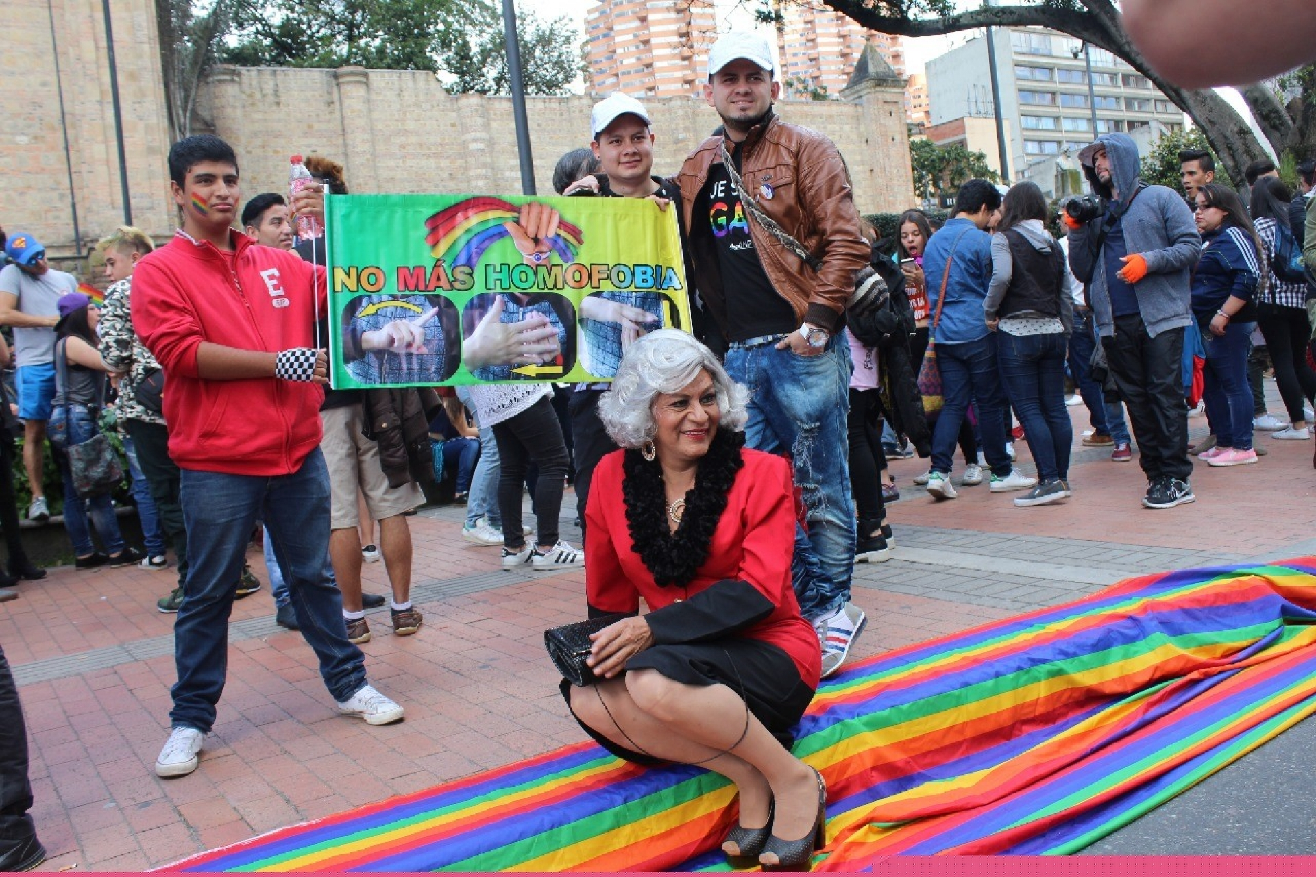 Marcha 'Bogotá Libre de Homofobia'