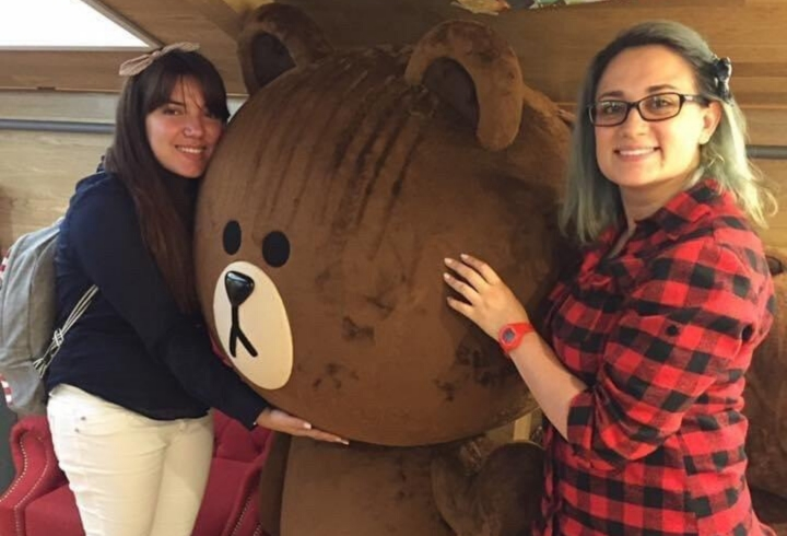 Stefany Pinzón y María Camila Díaz dueñas de 'Okey Dokey Café'