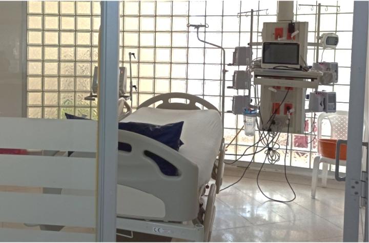 De 2.153 camas UCI destinadas para el uso de casos de covid-19 en este momento están en uso 2.020.
