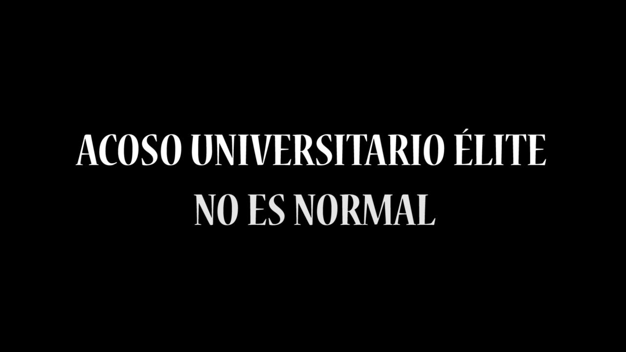 Acoso Universitario Élite