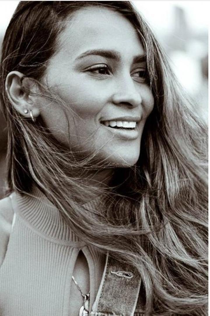Yeimy Paola disfruta enseñar a personas que sueñan con ser modelos