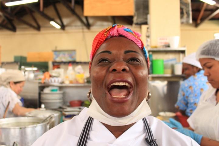 Mary, la cocinera del pacífico