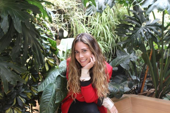 Sofía Araújo, actriz y estudiante de la Universidad del Rosario.