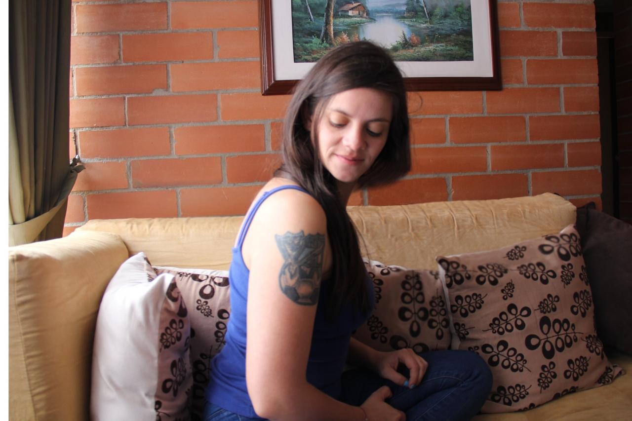 Alejandra Carvajal, diez años en la agitada vida de las barras bravas