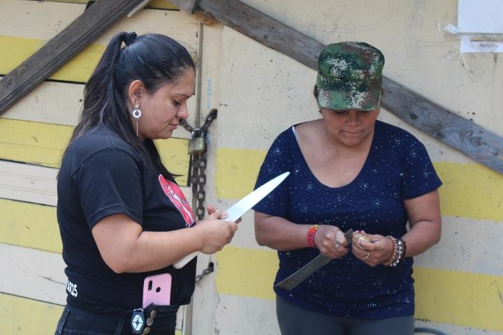 Poder Popular trabaja con aproximadamente 30 ranchos, donde las líderes son madres de familia