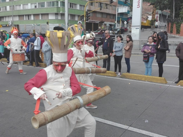 Bogotá se vistió de alegría por su cumpleaños