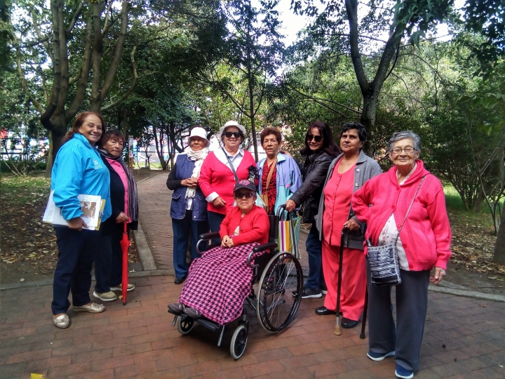 Grupo del adulto mayor de Santa María del Lago