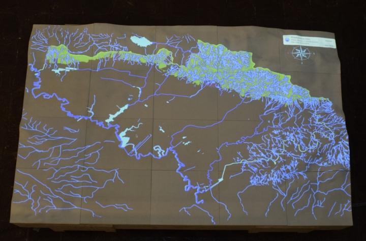 Cartografía interactiva.