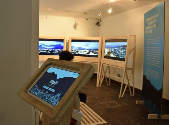 Sala interactiva uno. Cartografías.