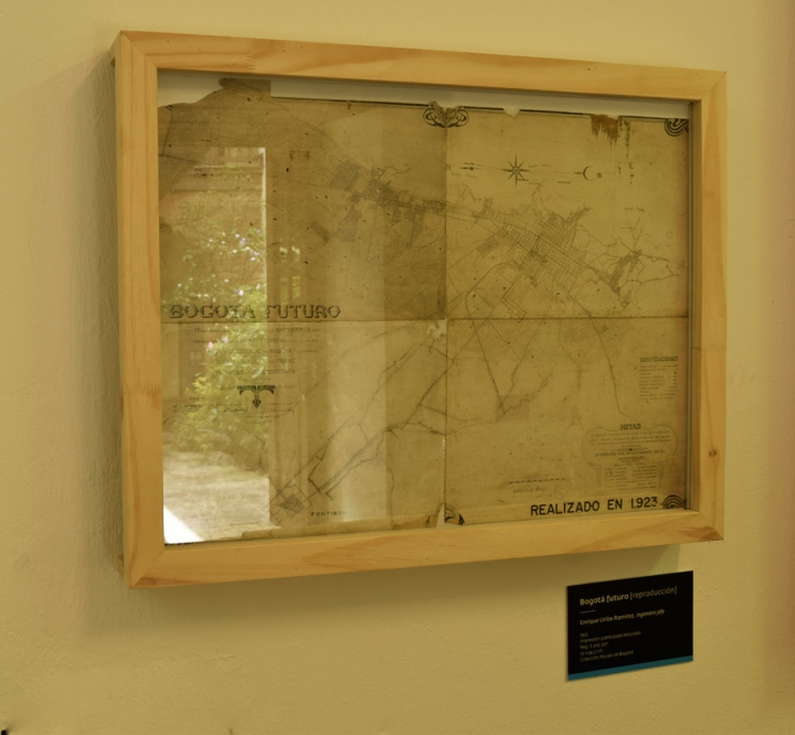Sala histórica. Cartografías.