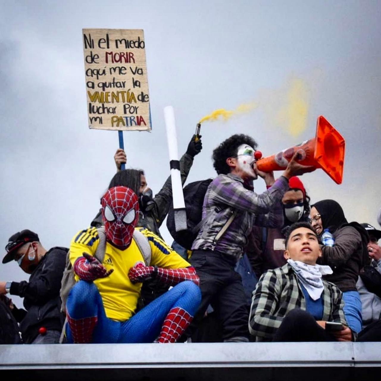 ¿Por qué en Colombia seguimos marchando después de un mes?
