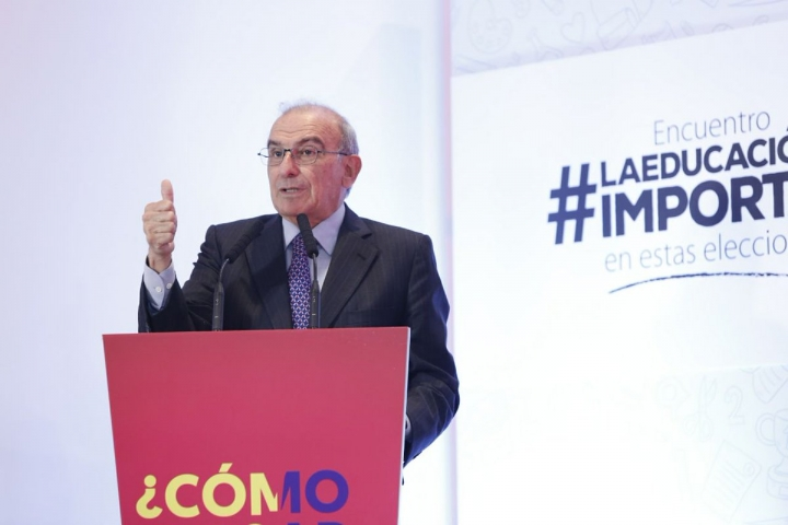 El candidato presidencial Humberto de la Calle. Twitter: @DeLaCalleHum