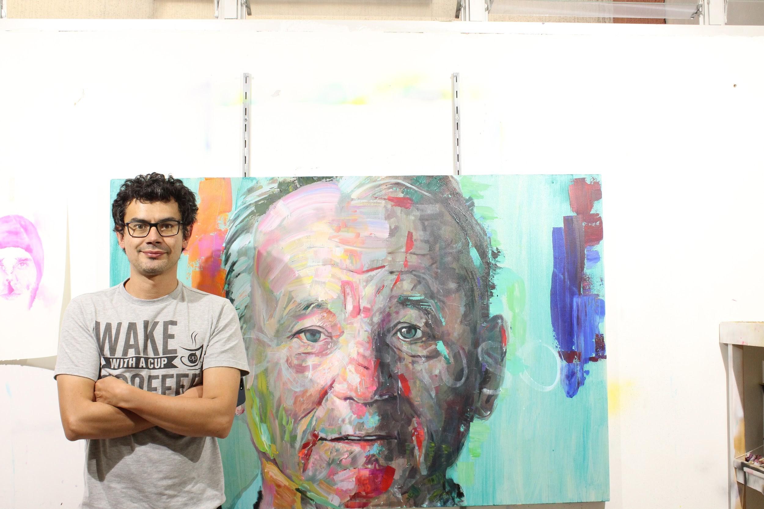 Luis Carlos Cifuentes, el artista que revoluciona las formas convencionales del arte