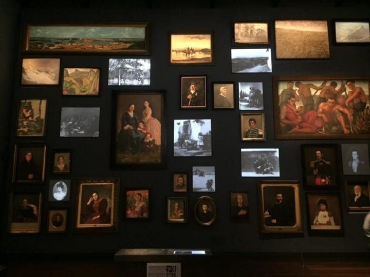 Sala de memoria y nación del Museo Nacional