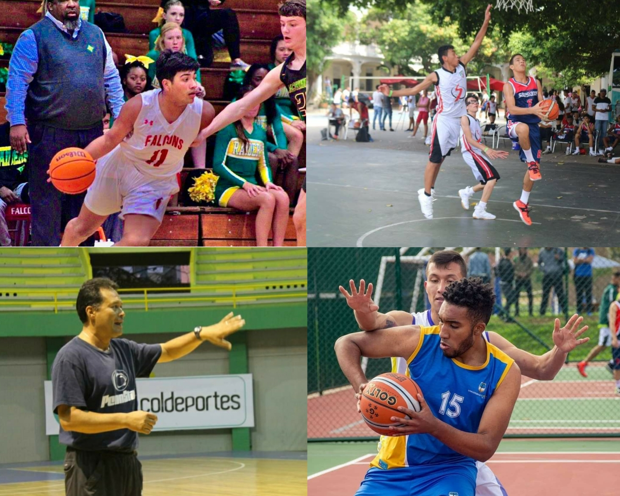 Tras las huellas del baloncesto colombiano: cuatro historias de vida deportivas