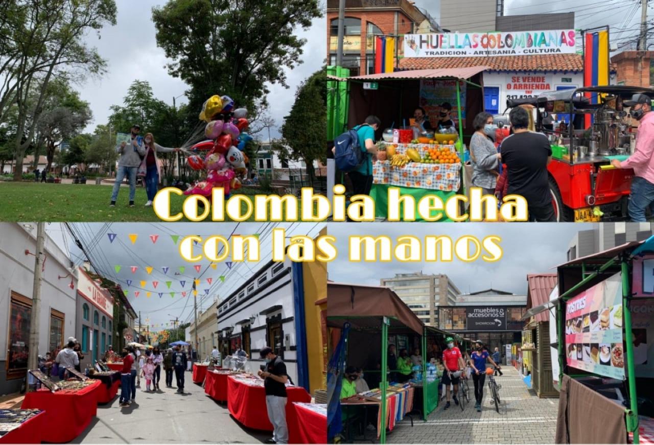 Colombia hecha con las manos