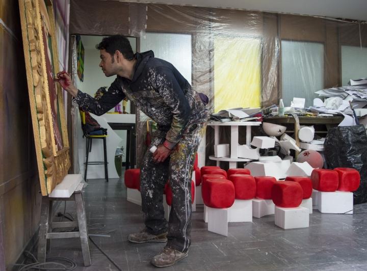 Mauricio Lancheros, el artista empírico seleccionado para el Gran Salón BAT