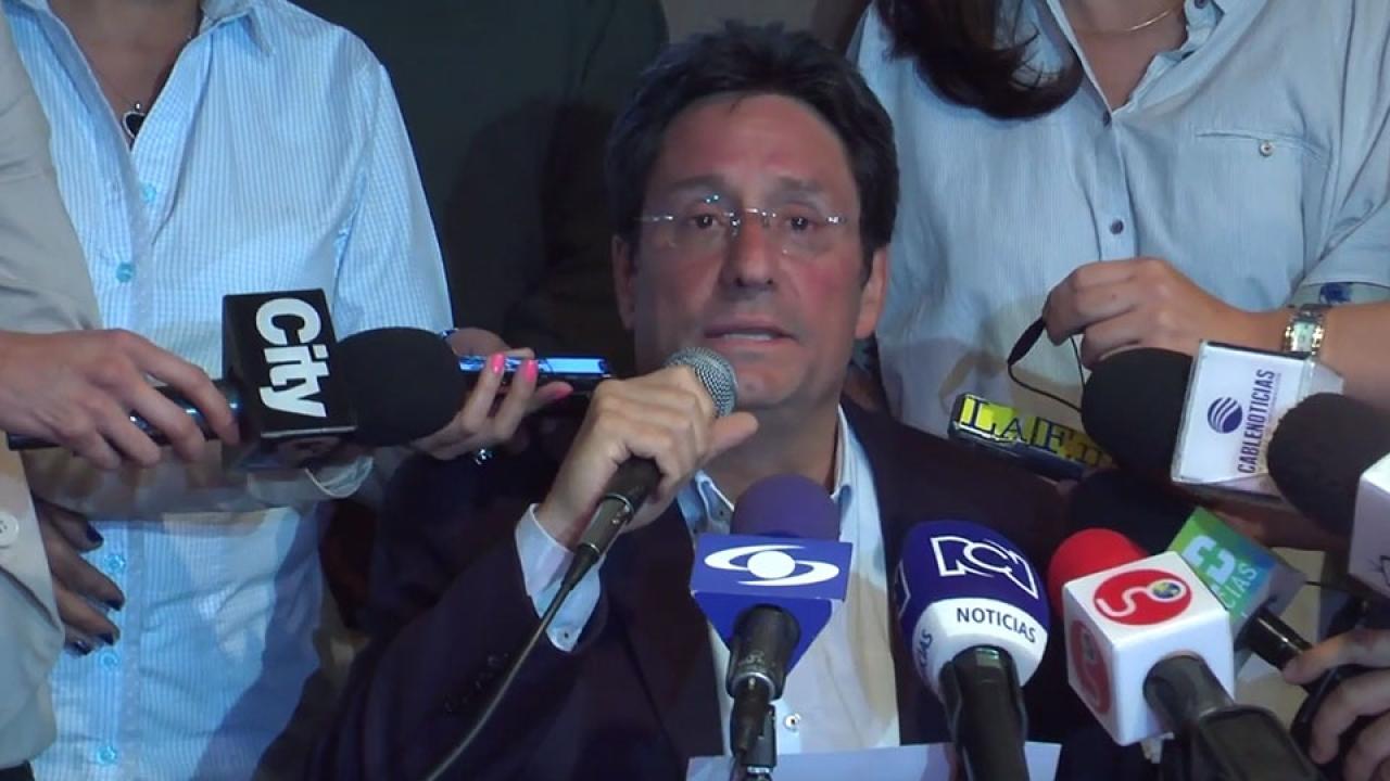 Mensaje de 'Pacho' Santos al nuevo alcalde de Bogotá