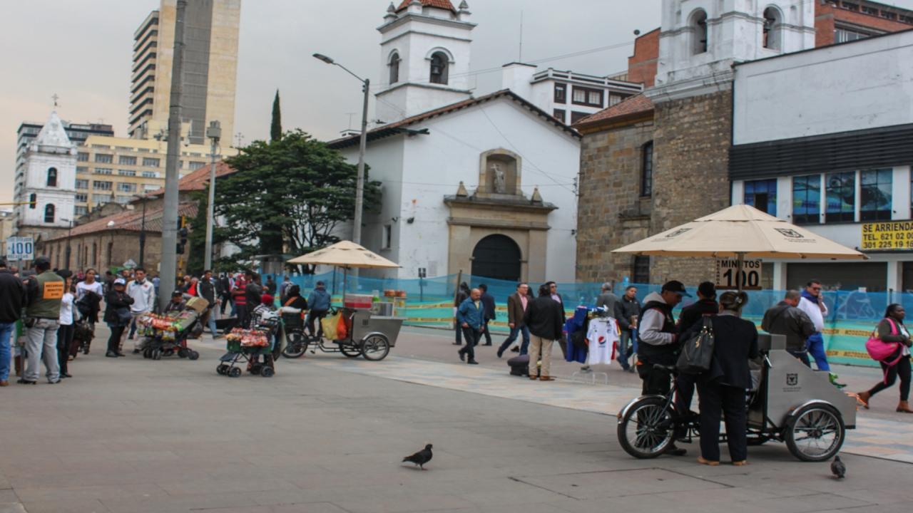 Vendedores informales en Bogotá, entre la incertidumbre y la esperanza