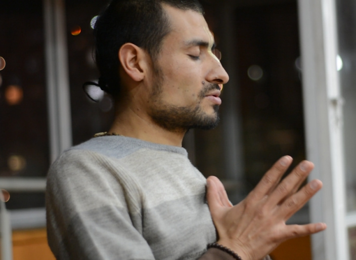 El Hare Krishna que conquistó Bogotá