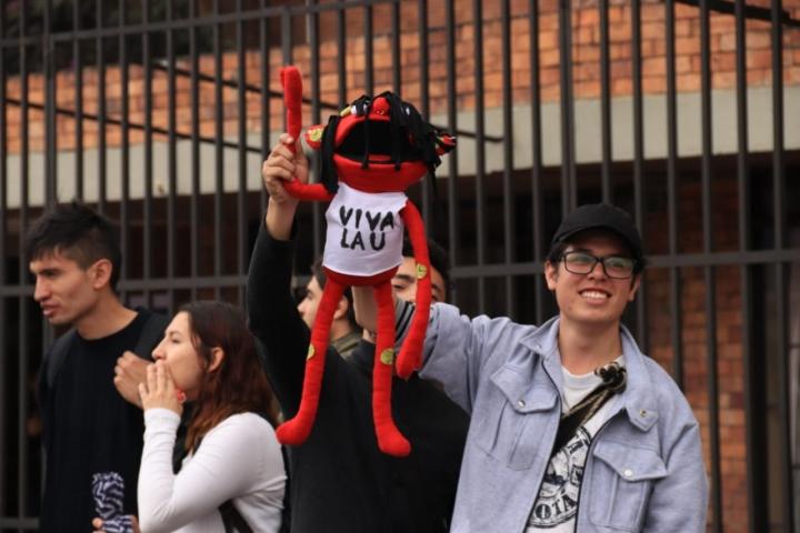 Así se alistan los estudiantes para la marcha por la universidad pública