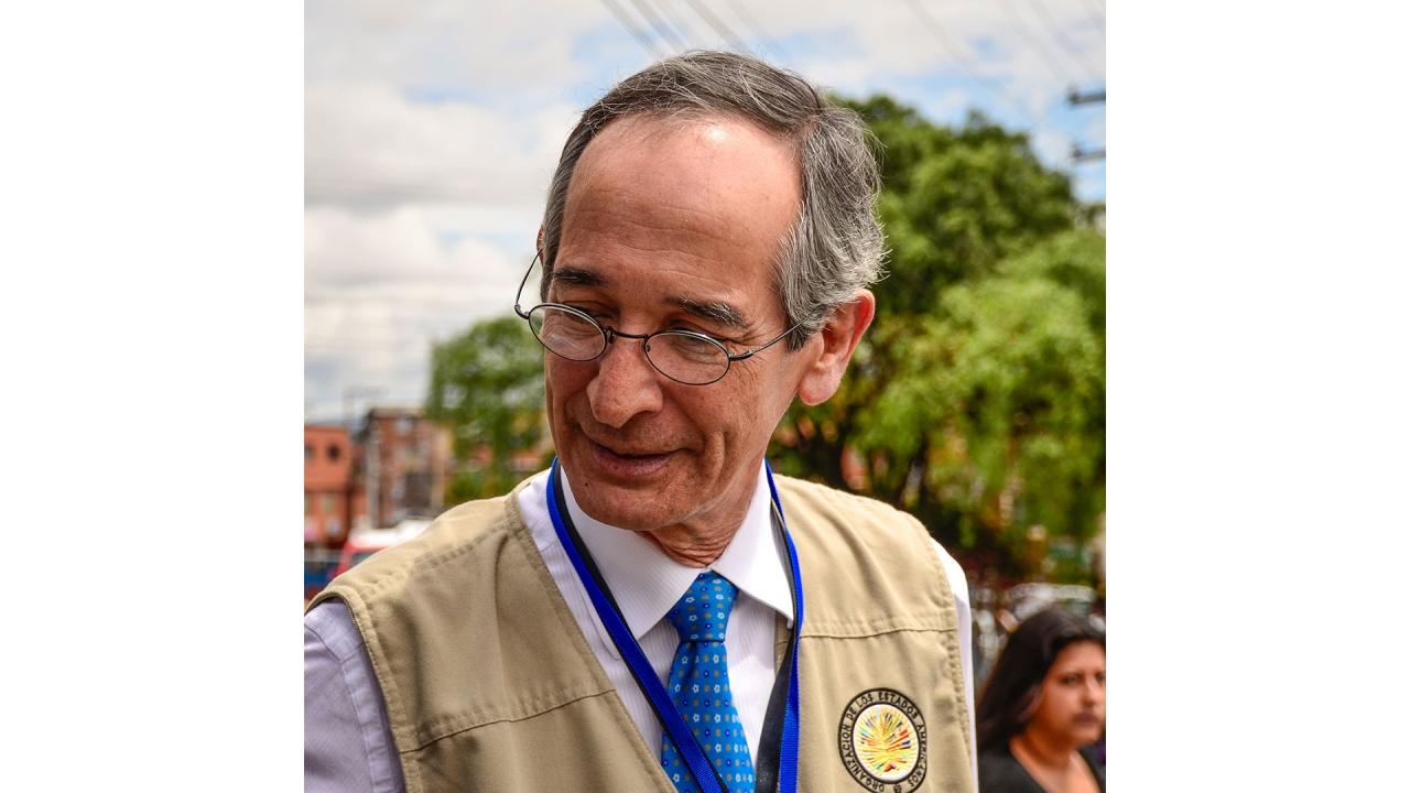 La OEA hizo presencia en la localidad de Ciudad Bolívar durante las elecciones