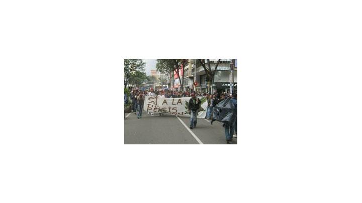 Marcha a favor de la legalización noviembre 2013